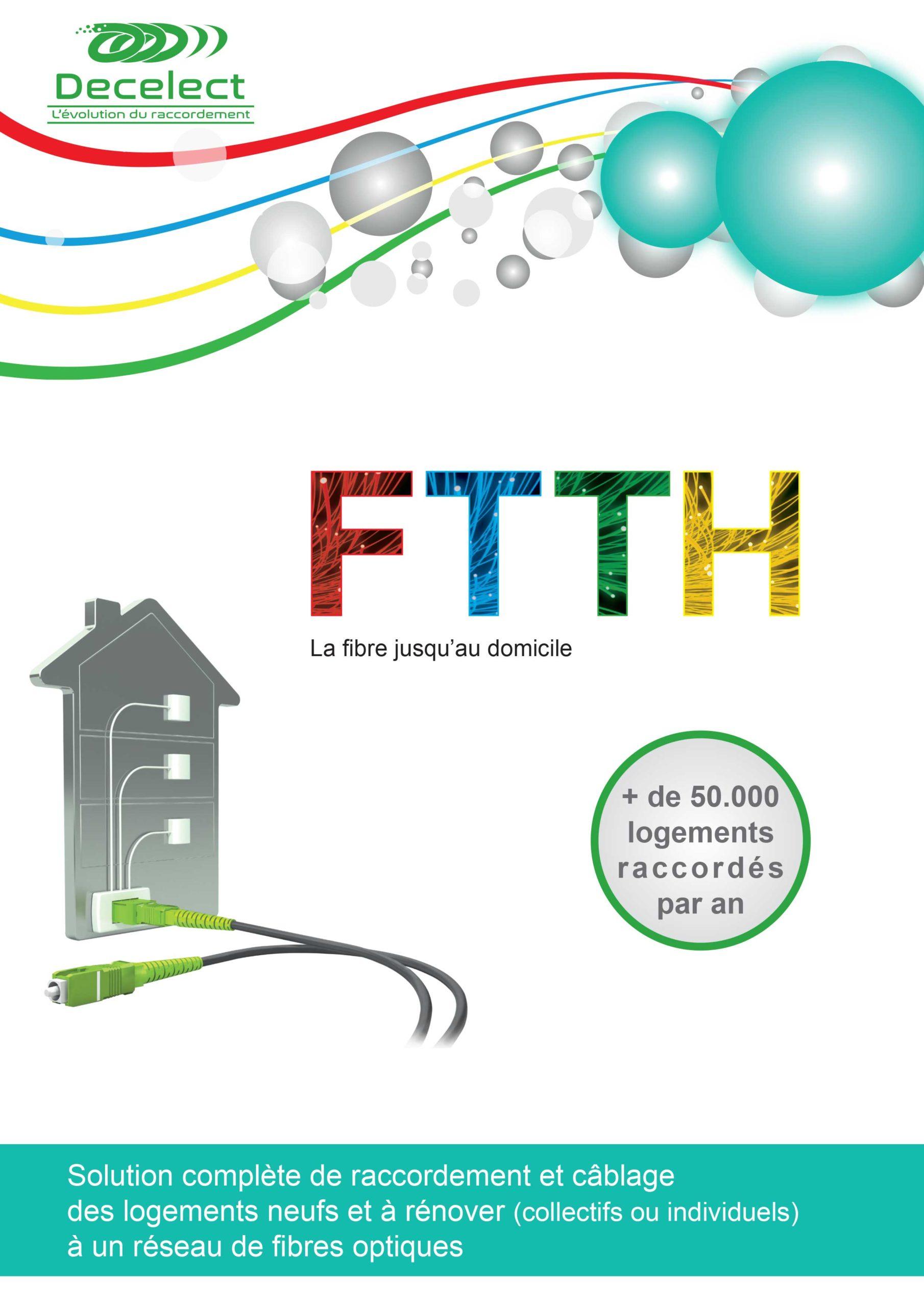 Plaquette FTTH